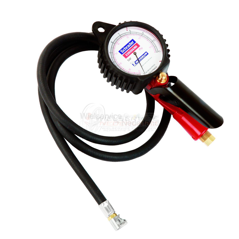 Pompklok Schrader Eurodainu 0,7-12bar Bandvulmeter