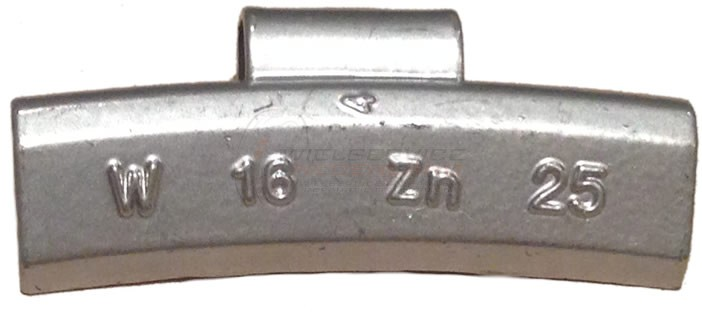 20 gram Basic Wielgewicht Alu