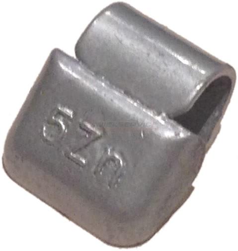 15 gram Basic Wielgewicht Alu