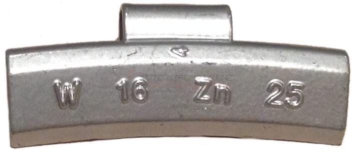 25 gram Basic Wielgewicht Alu